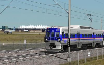 Eagle P3 Commuter Rail